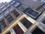 Detail of Traditional Amersterdam House Facade at Singel Canal, Amsterdam, Holland Photographic Print by Richard Nebesky