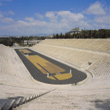 The Stadion, C. 330 BC, Restored for the First Modern Olympics in 1896, Athens, Greece, Europe Photographic Print by Roy Rainford
