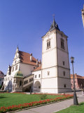 Renaissance/Gothic Town Hall Dating from 1551, in Town of Levoca, Presov Region, Spis, Slovakia Photographic Print by Richard Nebesky