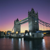 Evening, Tower Bridge and River Thames, London Photographic Print by Roy Rainford