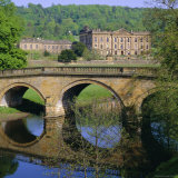 Chatsworth House, Derbyshire, England, UK Fotografisk tryk af Roy Rainford