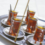 Turkish Tea, Turkey, Europe, Eurasia Photographic Print by John Miller