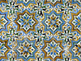 Azulejos Tiles in the Mudejar Style, Casa De Pilatos, Santa Cruz District, Andalusia, Spain Photographic Print by Robert Harding