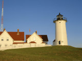 Exterior of Nobska Point Lighthouse, Woods Hole, Cape Cod, Massachusetts, USA Photographic Print by Fraser Hall