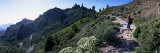 Trail to Roque Nublo, Gran Canaria, Canary Islands, Spain, Europe Photographic Print by Kim Hart