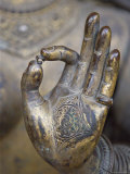 Close-Up of the Hand of Ganga, Kathmandu Valley, Nepal Photographic Print by Don Smith