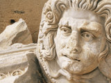 Medusa Head, Forum, Leptis Magna, Libya, North Africa Photographic Print by Nico Tondini