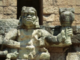 The Mayan Rain God Chac, Western Highlands, Honduras Photographic Print by Robert Francis