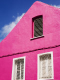 Pink Building on Republique Street, Fort-De-France, Martinique, French Antilles, West Indies Photographic Print by Richard Cummins