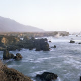 Pacific Ocean Along Rocky Coast, Scenic Drive, Big Sur, California, USA Photographic Print by Aaron McCoy