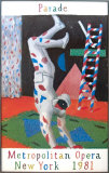 Harlequin from Parade, 1981 (#93) Verzamelposters van David Hockney