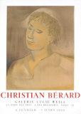 Galerie Lucie Weill, 1968 Posters av Christian Berard