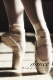 "Dance ""The body says what words cannot."" Martha Graham, Poster"