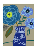 Blue Bouquet I Posters