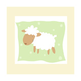 Cheerful Lamb Posters