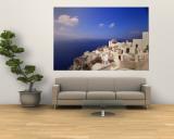 Santorini, Greece Vægplakat af Walter Bibikow