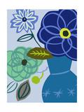 Blue Bouquet II Prints