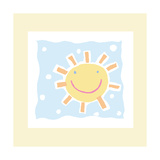Cheerful Sun Posters