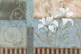 Crystal Blue Lily Prints by Carol Robinson