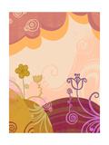 Floral Dreamscape Print