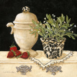Strawberry Still Life Poster by Charlene Winter Olson