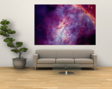 SPAC1 3 Orionnebel Wandgemälde von Arnie Rosner