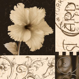 Hibiscus Blossom I Print by Katrina Craven