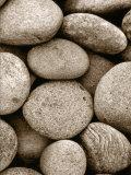 Light Mocha Stone Jumble Poster