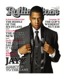 Jay-Z, Rolling Stone no. 1040, November 2007 Photographic Print by Matthew Rolston