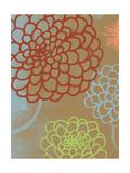 Floral Camel and Redwood Prints