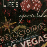 Life's a Gamble Poster by Eugene Tava