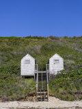 Weathered Beach Huts Photo