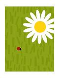 Ladybug and Daisy Prints