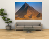 Pyramids, Cairo, Egypt Wall Mural by Peter Adams