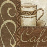 Latte Cafe I Posters by Jane Carroll