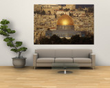 Dome of the Rock, Jerusalem, Israel Wall Mural by Yvette Cardozo