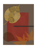 Leaf Abstract Tomato Posters