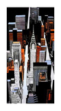 Chrysler Building Sky View Giclee Print by Joan Farré