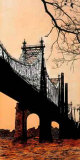 Queensboro Bridge Giclee Print by Joan Farré