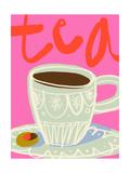 Tee-Nostalgie Kunstdrucke