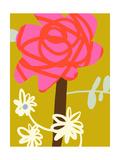Retro Rose Posters