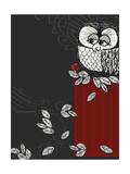 Retro Owl Posters