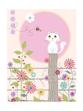 Kitty Kat Summer Print