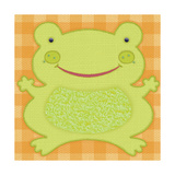 Needlepoint Frog Posters