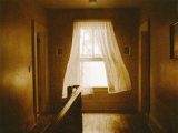 Country Days - Stairwell, Breeze, Curtains Print
