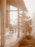Country Days - Rocking Chair Porch Poster