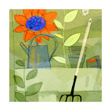 Gardening in Spring Prints