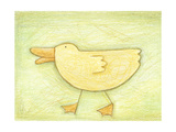 Determined Ducky - Crayon Critter II Posters