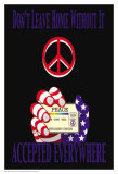 Peace Card Posters by Marilu Windvand