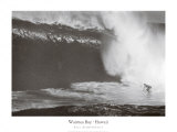 Waimea Bay, Hawaii Plakater af Bill Romerhaus
